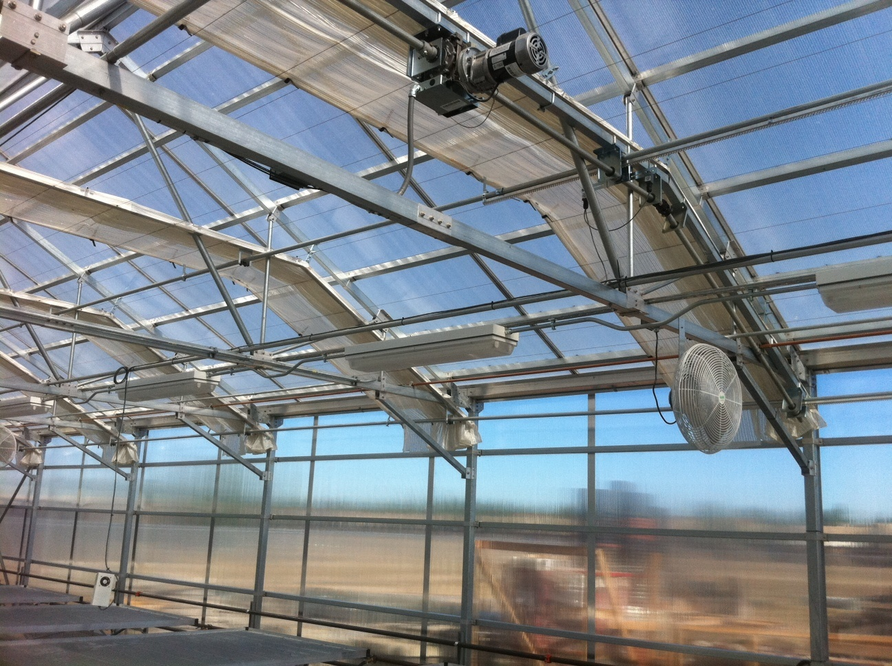Internal Amp External Greenhouse Curtain Systems